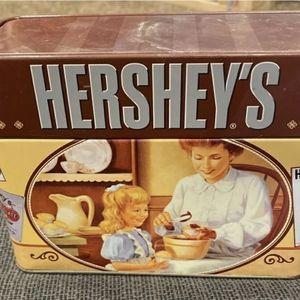 Hershey Tin Recipe Box